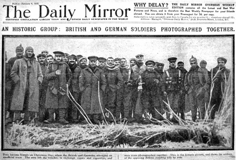 Christmas_Truce_1914_Daily_Mirror