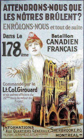 178_bataillon_canadien_cathédrale_Reims